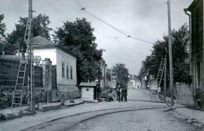 место рождения пушкина, малая почтовая улица, госпитальный переулок, старая фотография
