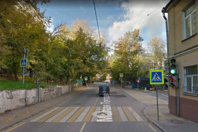 место рождения пушкина, малая почтовая улица, госпитальный переулок, современная фотография