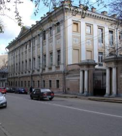 басманная больница, москва, фотография