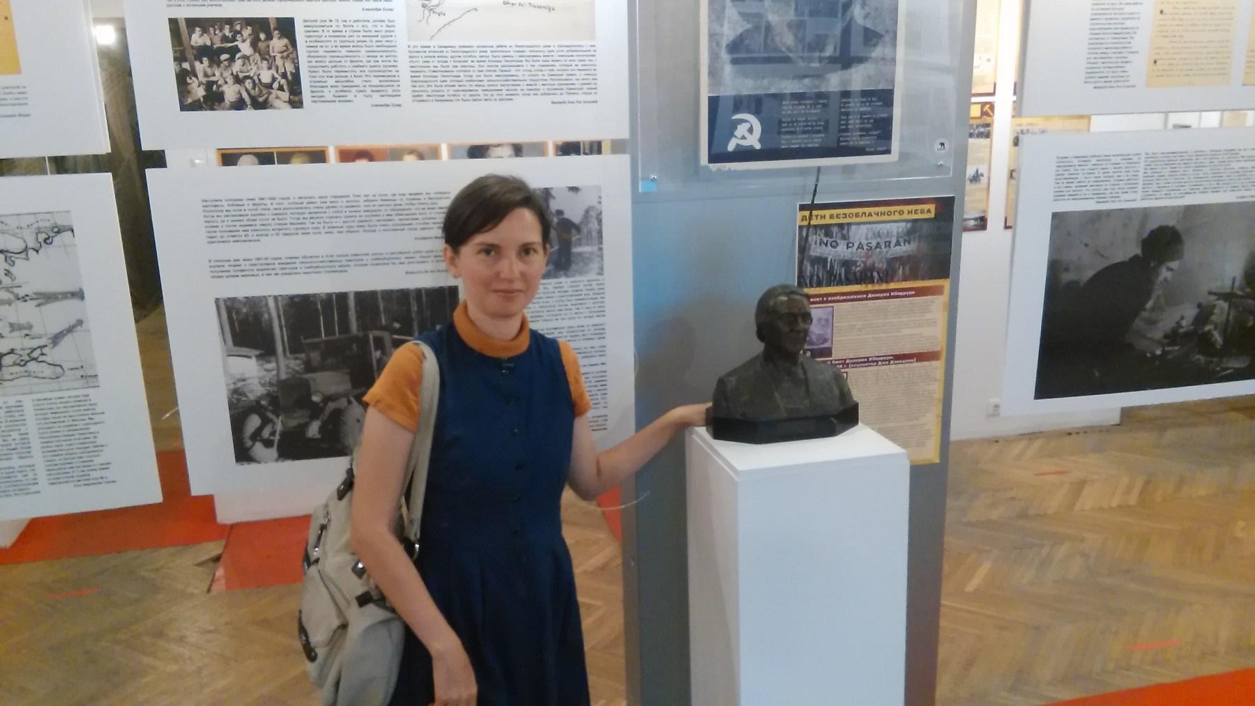 Анна Павловна Фернандес, ведущий специалист отдела комплектования РГАФД