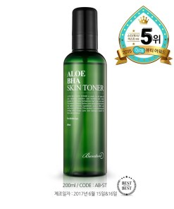 Lotion tonique Benton BHA à l'aloe véra
