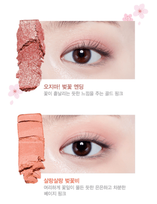 Palette yeux blossom 1