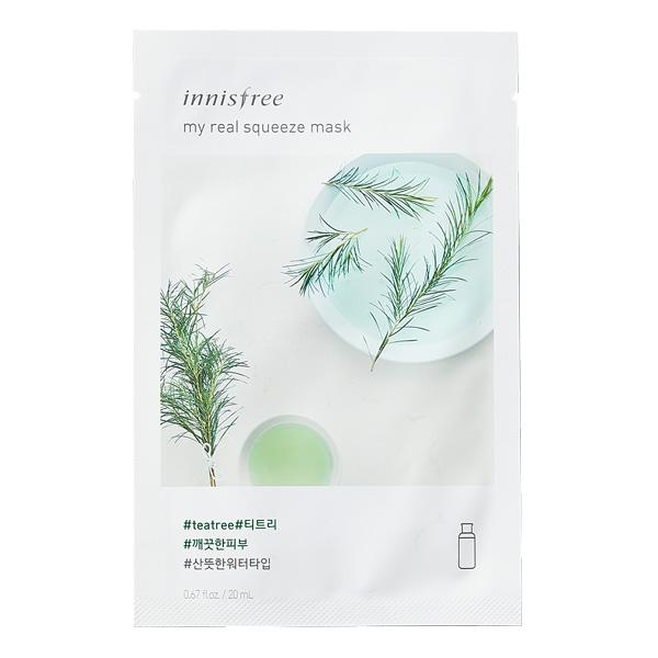Masque Tea Tree : INNISFREE My Real Squeeze