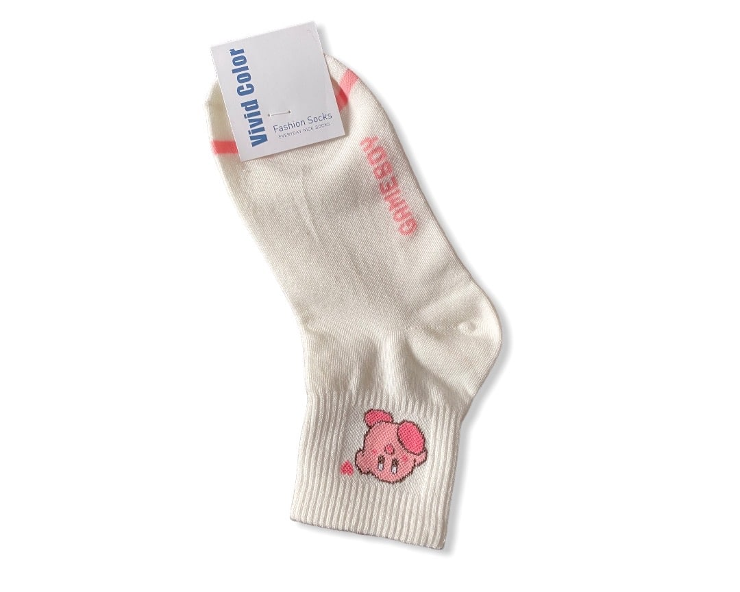 • Chaussettes Gameboy : Kirby