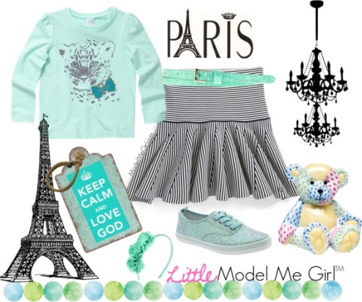 Minty French Girls Fashion