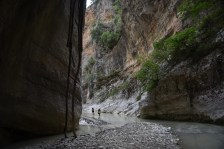 Albania Inside Canyon