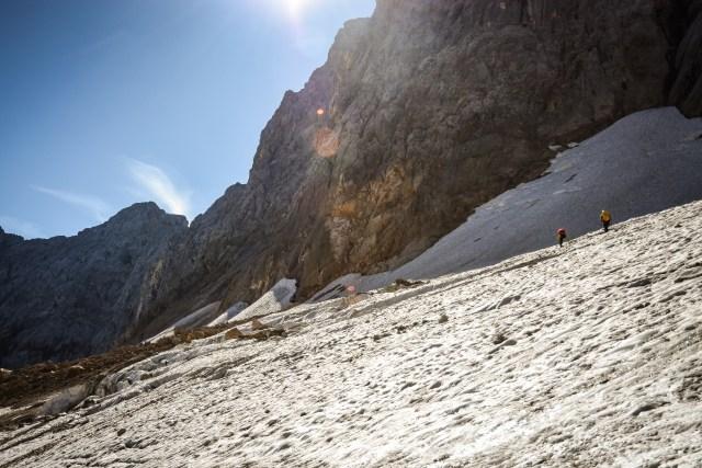 Germany Zugspitze Glacier Sun