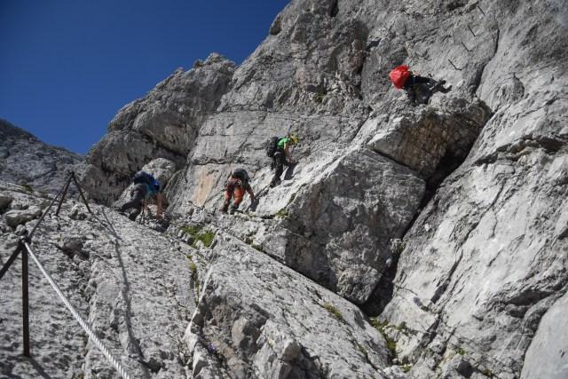Germany Zugspitze Via Ferrata Up