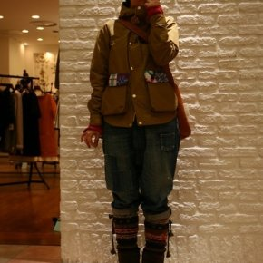 INTERESTING OUTFIT IN SAPPORO