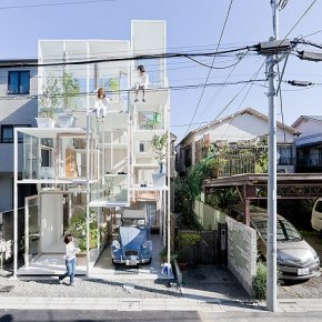 THE INCREDIBLE NA HOUSE IN TOKYO