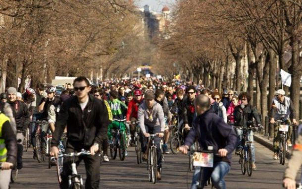 bucharest bicyclists