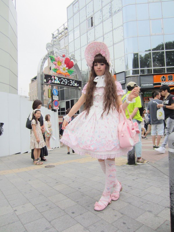 takeshita street, tokyo1
