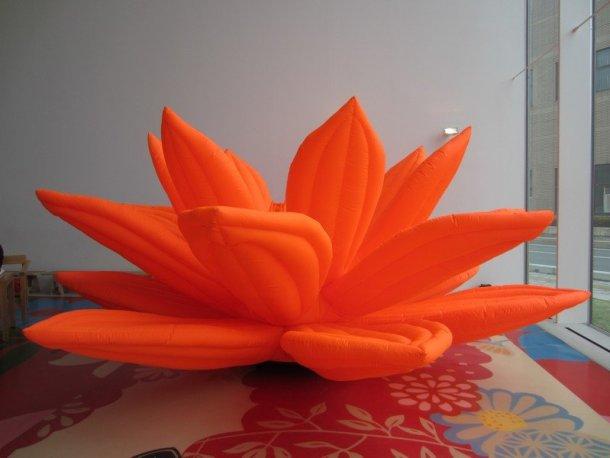 towada art center cheoi jeoung hwa breathing flower