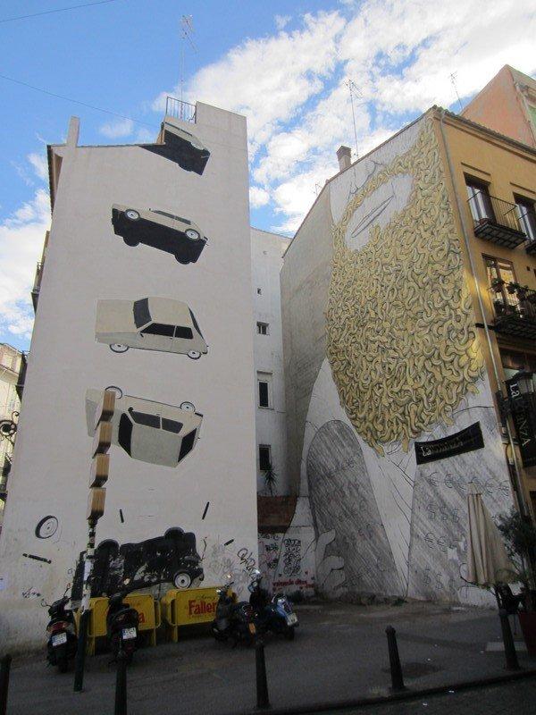 the escif and blu murals in valencia 1