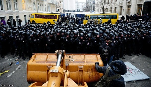 euromaidan fights 2