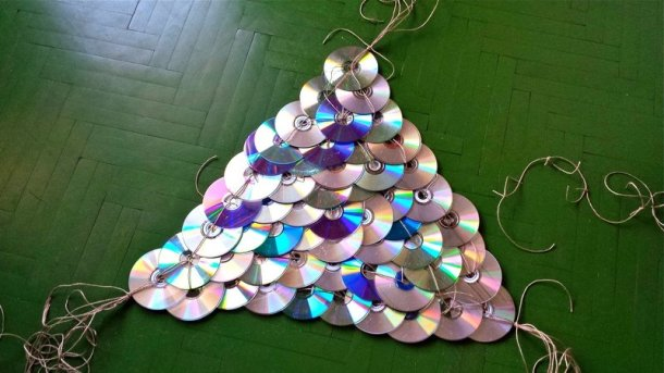 alternative christmas tree by mihaela dancs