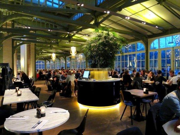 restaurant plantage in amsterdam