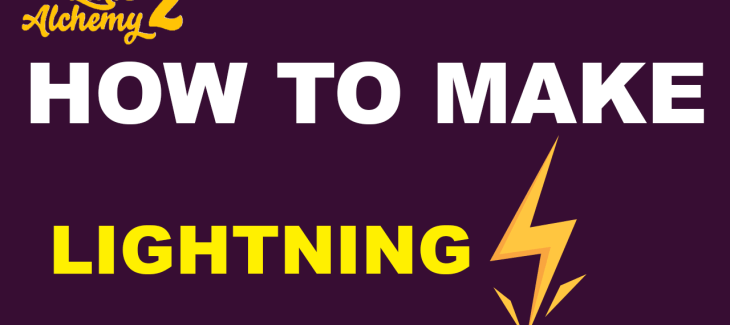 How to Make Lightning in Little Alchemy 2