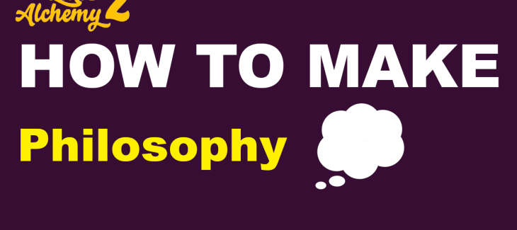 How to Make Philosophy in Little Alchemy 2