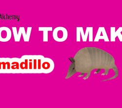 How to make an Armadillo in Little Alchemy
