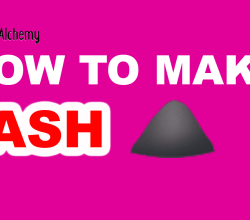 how to make ash in little alchemy