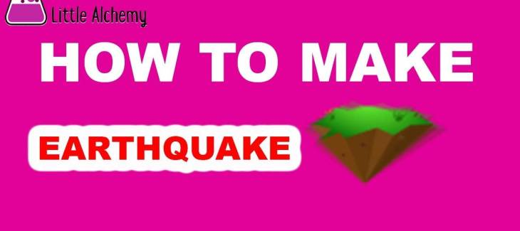 How to Make Earthquake in Little Alchemy
