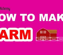 How to Make Farm in Little Alchemy