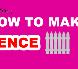 How to Make a Fence in Little Alchemy