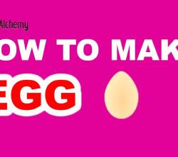 how to Make an Egg in Little Alchemy