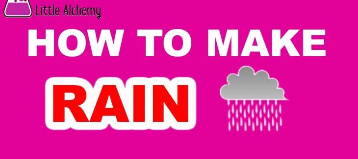 How to Make Rain in Little Alchemy