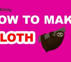 How to Make a Sloth in Little Alchemy