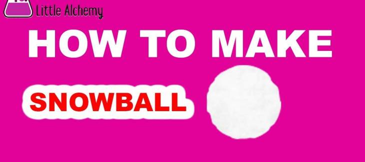How to Make a Snowball in Little Alchemy