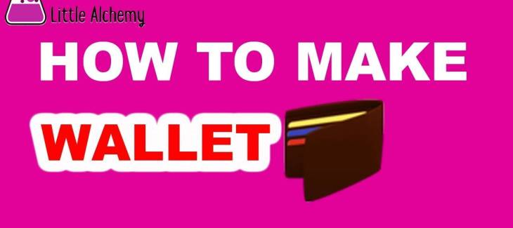 How to Make a Wallet in Little Alchemy