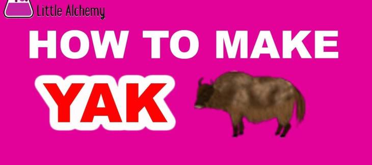 How to Make a Yak in Little Alchemy