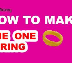 How to Make the one Ring in Little Alchemy