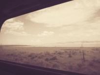 train window sepia