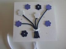 Caixinha arvore azul