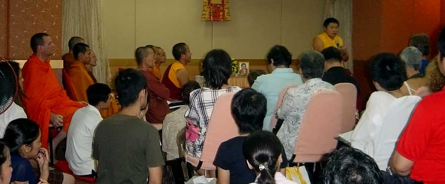 Phakchok Rinpoche Bkk Schedule (1/2)
