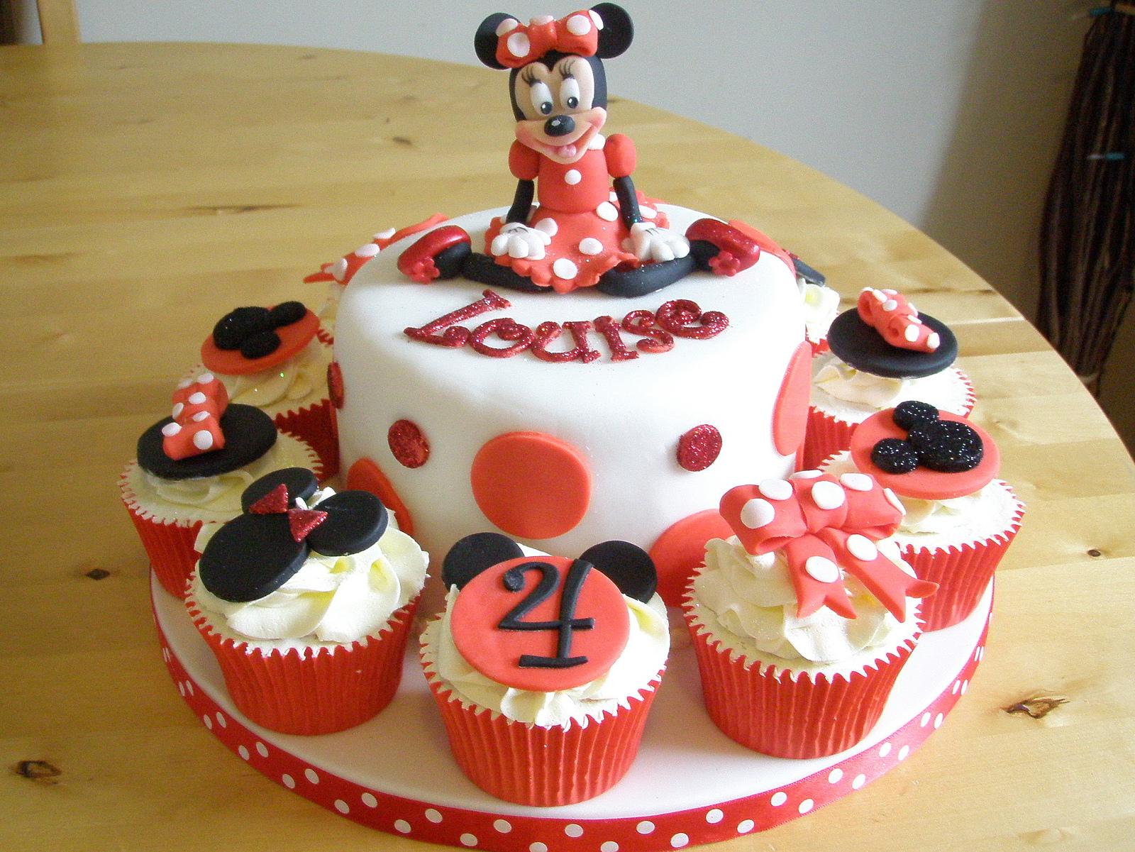 Minnie Mouse Cakes – Decoration Ideas