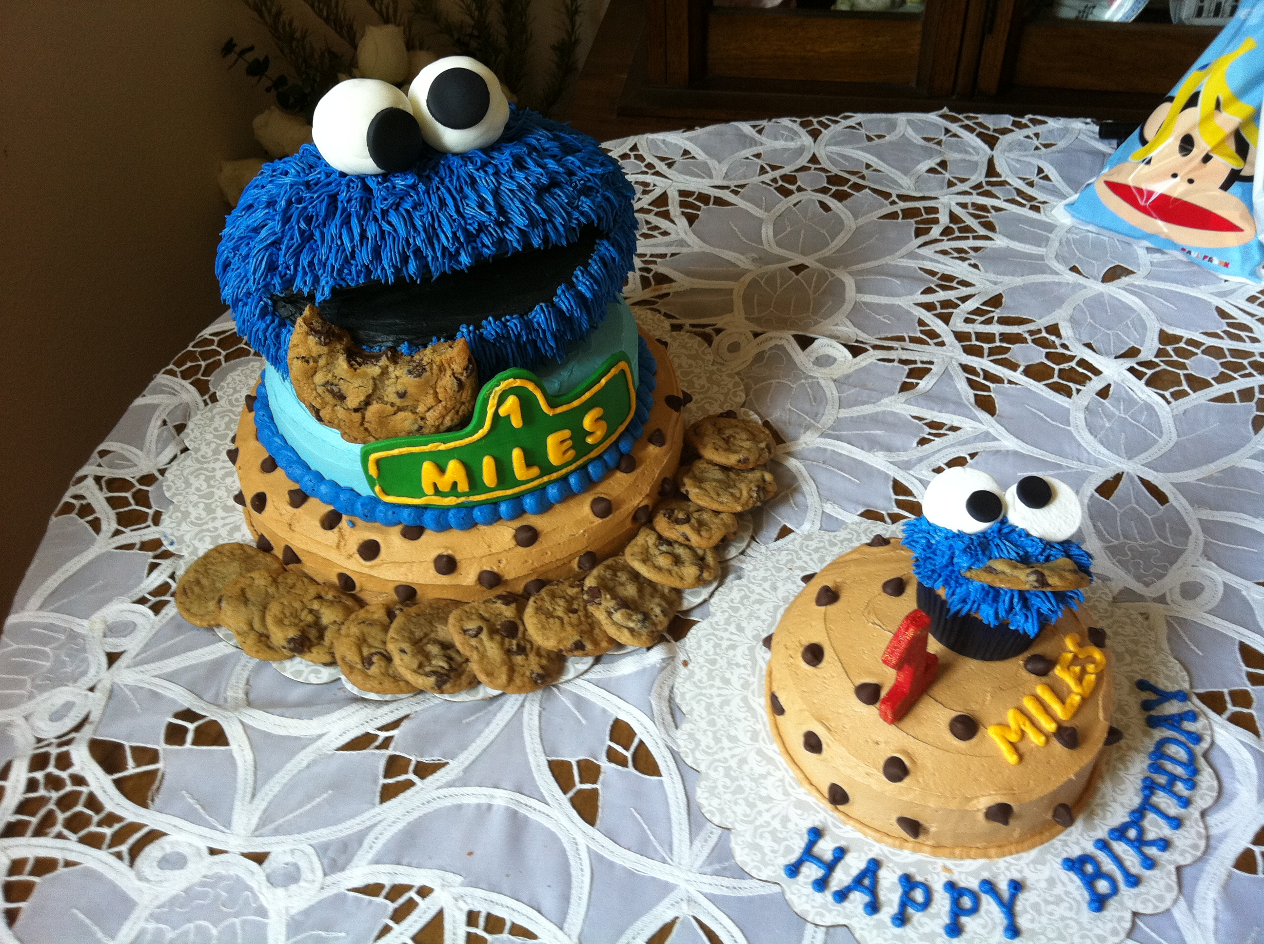 Cookie Monster Cakes – Decoration Ideas