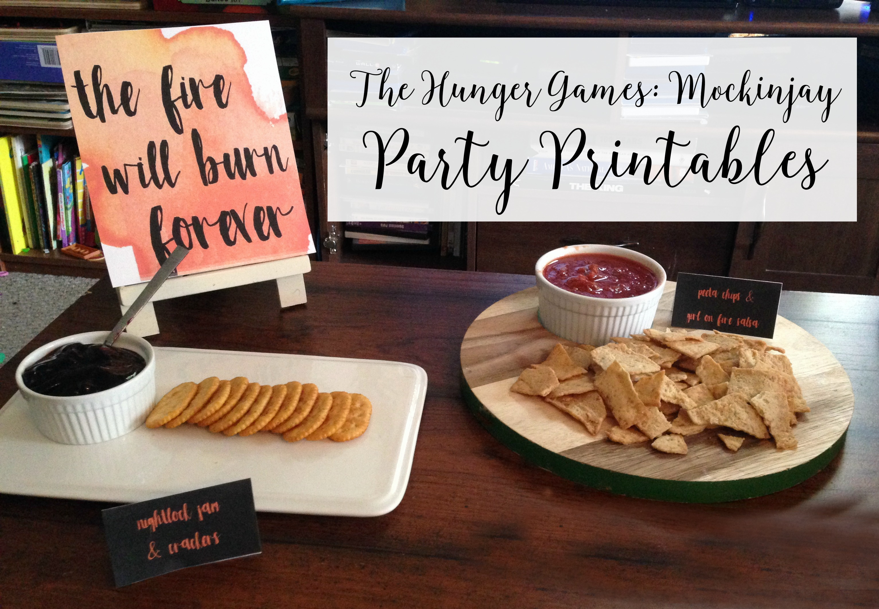 The Hunger Games Mockingjay Part 2 Free Party Printables 100 Fandango Giveaway