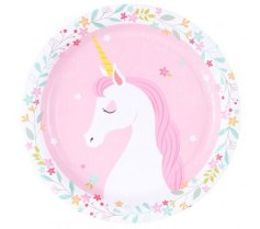 Unicorn Party Plates by Little Big Company