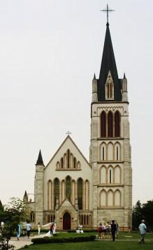 Kulissen-Kirche - Rein kann man nicht