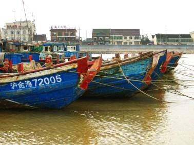 Fischerboote, Jinshan