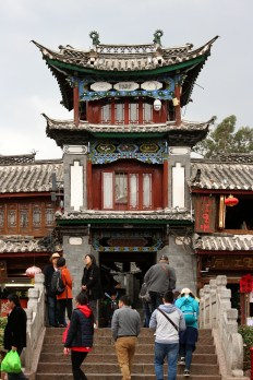 Gebäude in Lijiang Old Town