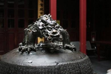 Im Jade-Buddha-Tempel, Shanghai