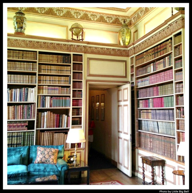 Library-Leeds-castle-Little-Big-Bell-blog