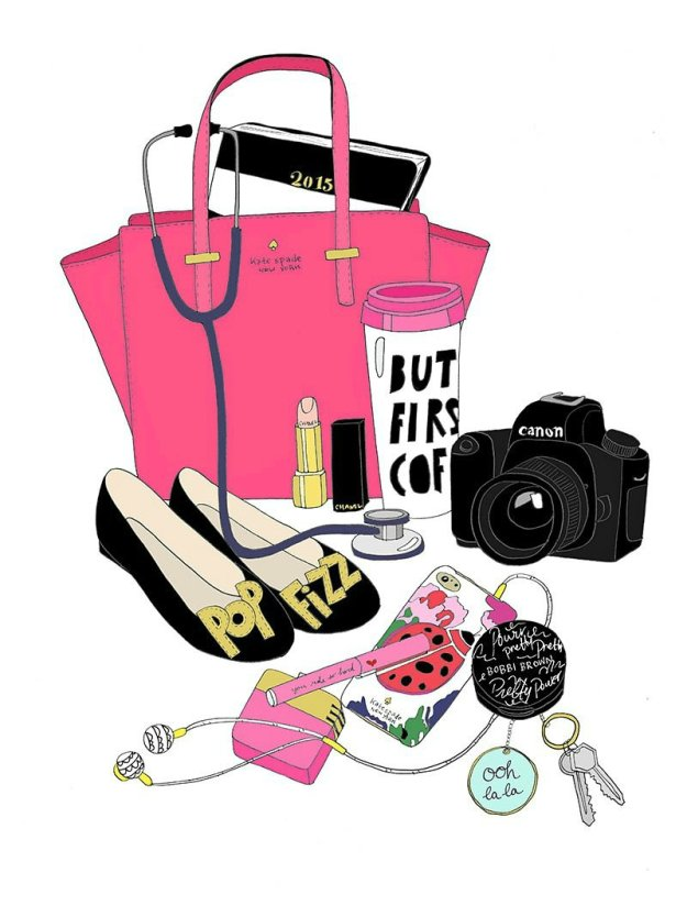 Little-Big-Bell's-handbag-drawn-by-Kristina-Hultkrantz