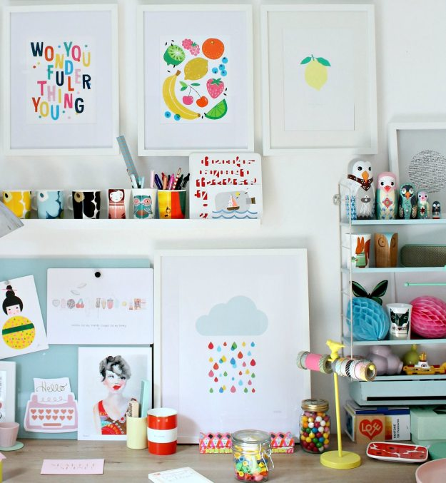 Colorful-1-gallery-wall-Little-Big-Bell