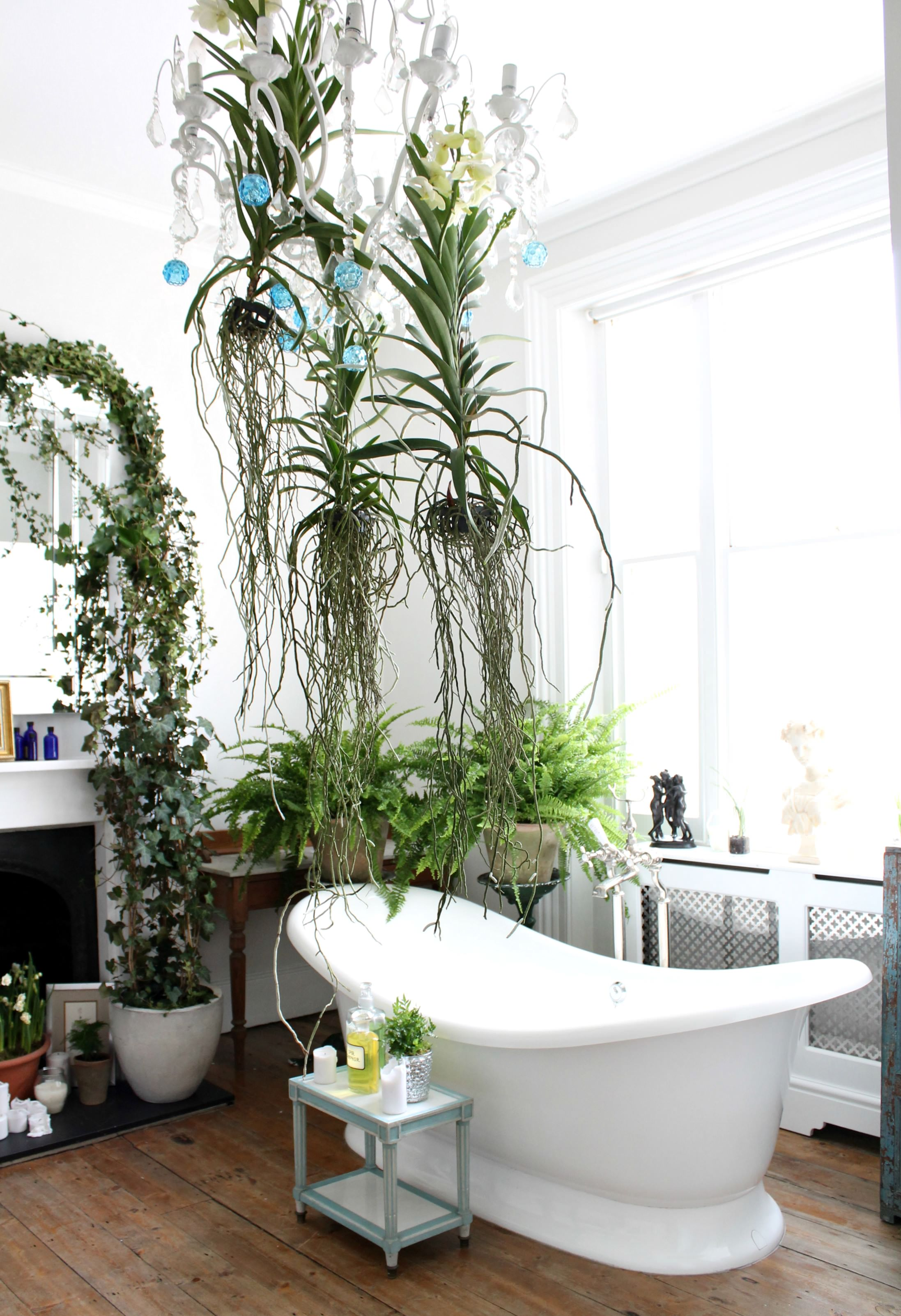 Red Magazine Unexpected Wild Trend Bathroom Photo By